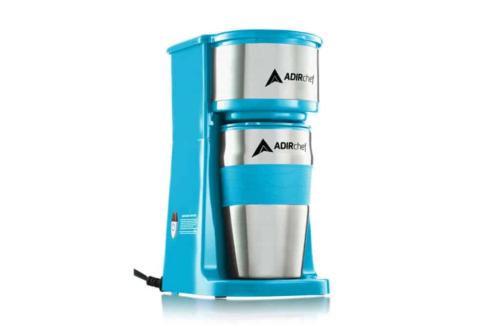 AdirChef Grab N' Go Personal Coffee Maker with 15 oz. Travel Mug Review