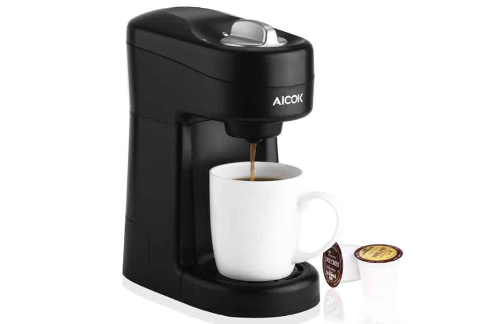 Aicok Single Serve Coffee Maker Review