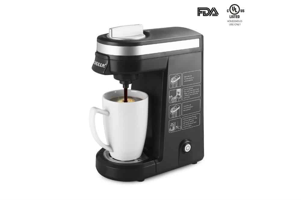 Chulux Single Serve Coffee Maker Brewer for K Cups Review