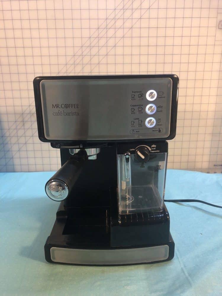 Mr Coffee Caf Barista Espresso And Cappuccino Maker