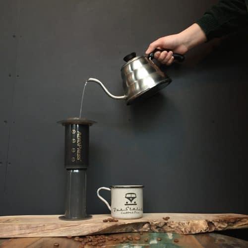Making Espresso with an AeroPress