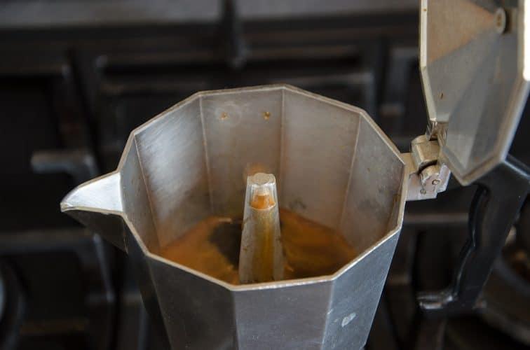 Making Espresso with a Moka Pot