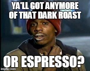 espresso coffee meme